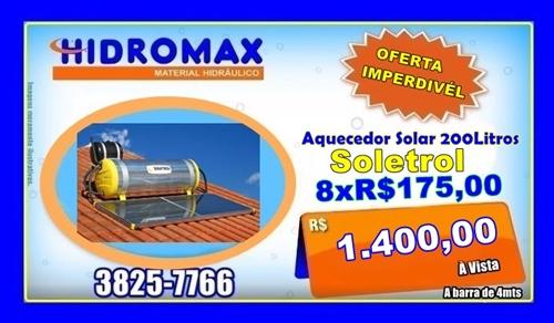 Hidromax -Solar-1400