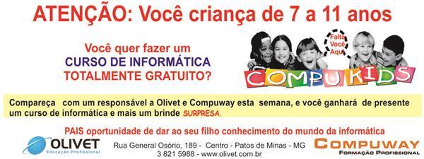 Olivet Promo��o Curso Gr�tis