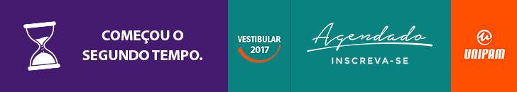 Vestibular agendado Unipam