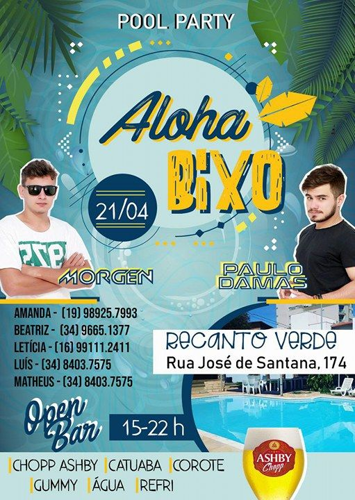 Pool Party - Aloha Bixo