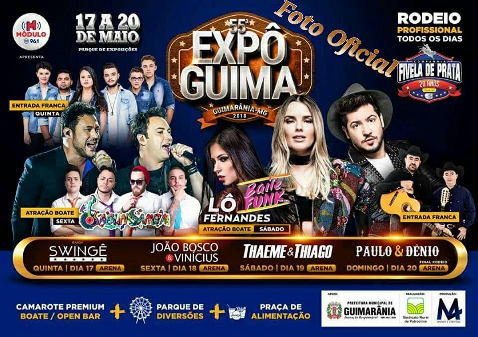 55ª Expo Guimarânia 2018