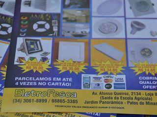 Eletrospesca: Patos de Minas ganha loja com grande variedade em produtos de pesca | Patos Agora - A notícia no seu tempo - http://patosagora.net