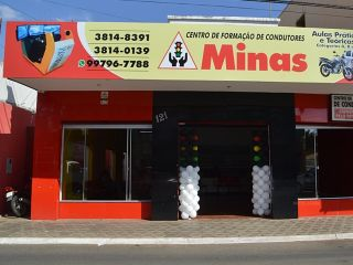 Auto Escola Minas está de endereço novo para melhor atender você cliente   | Patos Agora - A notícia no seu tempo - http://www.patosagora.net