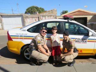 PM visita escola infantil e felicita criança apaixona pela instituição | Patos Agora - A notícia no seu tempo - http://www.patosagora.net