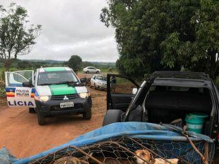 Caçador é preso e arma de fogo, munições e fisgas são apreendidas  | Patos Agora - A notícia no seu tempo - http://www.patosagora.net
