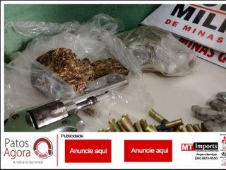 Polícias Militares cumprem vários mandados de busca e apreensão, três pessoas são conduzidas e diversos materiais são apreendidos | Patos Agora - A notícia no seu tempo - http://www.patosagora.net