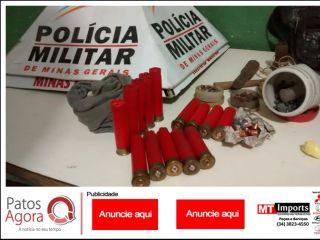 Após denúncia, PM aborda microônibus e localiza drogas e munições com passageiros | Patos Agora - A notícia no seu tempo - http://www.patosagora.net