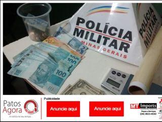GEPMOR aborda rapaz e localiza drogas, balança de precisão e dinheiro  em casa no Condomínio Moradas | Patos Agora - A notícia no seu tempo - http://www.patosagora.net