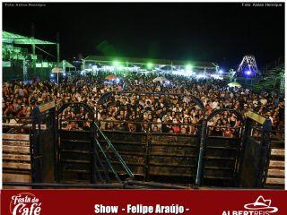 FESTA DO CAFÉ: Felipe Araújo canta pela primeira vez em nossa região | Patos Agora - A notícia no seu tempo - http://www.patosagora.net