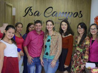 Inaugurada Loja Isa Campos moda e acessórios na Rua Ponto Chic | Patos Agora - A notícia no seu tempo - http://www.patosagora.net