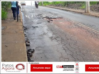 Motoristas e motociclistas devem redobrar atenção na Rua dos Miosotes | Patos Agora - A notícia no seu tempo - http://www.patosagora.net