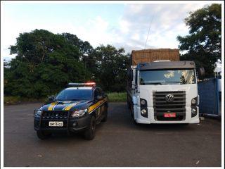 PRF apreende caminhão carregado com batatas que foi tomado de assalto no estado da Bahia, em 2016 | Patos Agora - A notícia no seu tempo - http://www.patosagora.net