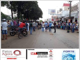 Homem morre após sofrer mal súbito enquanto andava na rua Sergipe | Patos Agora - A notícia no seu tempo - http://www.patosagora.net