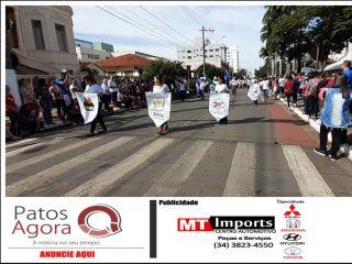 Desfile Cívico-Militar-Estudantil marca comemoração do aniversário de Patos de Minas | Patos Agora - A notícia no seu tempo - http://www.patosagora.net
