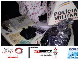 PM aborda veículo e apreende mais de 2 kg de cocaína; homem é preso e adolescente apreendida   Patos Agora - A notícia no seu tempo - http://www.patosagora.net