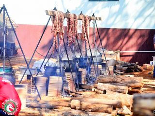 Queima do Alho durante a Cavalgada Vila Vicentina - Parte 1 | Patos Agora - A notícia no seu tempo - http://www.patosagora.net