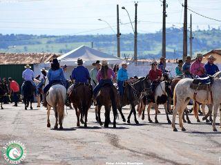 Queima do Alho durante a Cavalgada Vila Vicentina - Parte 1 | Patos Agora - A notícia no seu tempo - http://patosagora.net