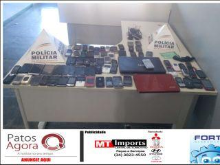 Pintor furta 70 aparelhos celulares no Fórum de São Gotardo; ele já havia trabalhado no local | Patos Agora - A notícia no seu tempo - http://www.patosagora.net