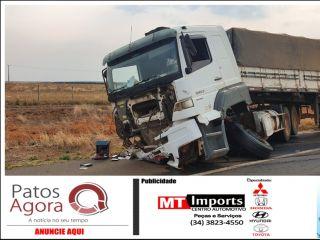 Três médicos morreram em grave acidente entre carro e carreta  | Patos Agora - A notícia no seu tempo - http://www.patosagora.net