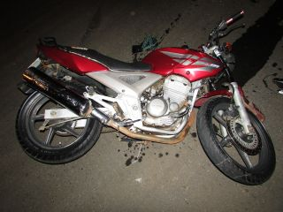 Motociclista fica gravemente ferido após colidir na lateral de carro | Patos Agora - A notícia no seu tempo - http://patosagora.net