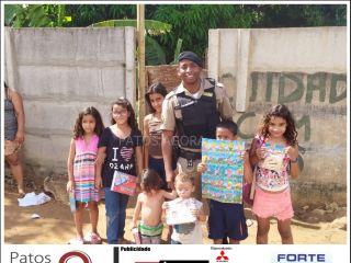 PM de Lagoa Grande realiza ações preventivas no Dia das Crianças | Patos Agora - A notícia no seu tempo - http://www.patosagora.net