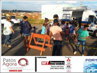 Polícia Militar de Patrocínio realiza comemoração ao Dia das Crianças   Patos Agora - A notícia no seu tempo - http://patosagora.net