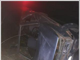 Motorista fica ferido após capotar veículo na rodovia MGC-354 | Patos Agora - A notícia no seu tempo - http://www.patosagora.net