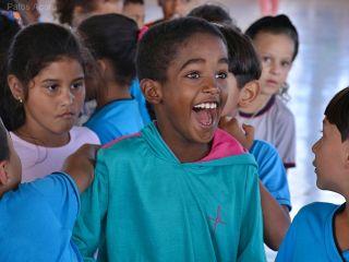 Equipe Edidany Barbosa e Ordem Demolay fazem a alegria de crianças em escola | Patos Agora - A notícia no seu tempo - http://patosagora.net