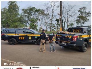 Após perseguição na BR-365, PRF apreende 28 kg de maconha e prende suspeito de tráfico | Patos Agora - A notícia no seu tempo - http://www.patosagora.net