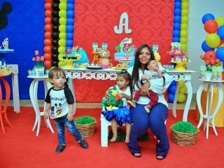 Crianças ganham festinha de aniversário feita por voluntários | Patos Agora - A notícia no seu tempo - http://www.patosagora.net