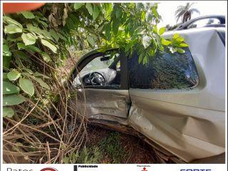 Motorista atravessa pista repentinamente e causa acidente na rodovia BR-354   Patos Agora - A notícia no seu tempo - http://patosagora.net
