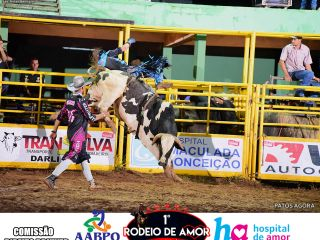 14/03/2020 - 1º Rodeio do Amor - 3º Round de Montarias - Parte 1 | Patos Agora - A notícia no seu tempo - https://patosagora.net