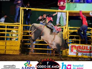 14/03/2020 - 1º Rodeio do Amor - 3º Round de Montarias - Parte 2 | Patos Agora - A notícia no seu tempo - https://patosagora.net
