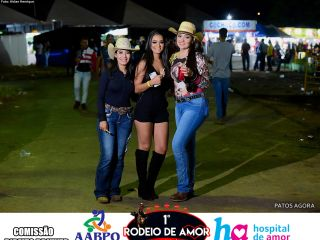 14/03/2020 - 1º Rodeio do Amor - 3º Round de Montarias - Parte 4 | Patos Agora - A notícia no seu tempo - https://patosagora.net