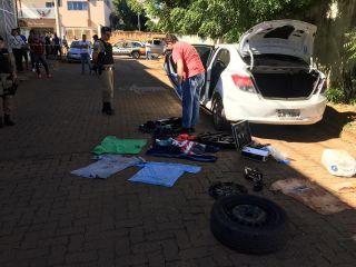 PM localiza, com marcas de sangue, carro do motorista de aplicativo desaparecido; 5 pessoas foram detidas | Patos Agora - A notícia no seu tempo - http://patosagora.net