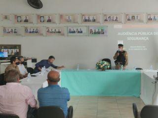 Comandante do 46º BPM participa de audiência sobre segurança pública | Patos Agora - A notícia no seu tempo - https://patosagora.net