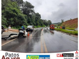 Jovem de 17 anos morre em acidente na Curva dos Moreiras na BR-365    Patos Agora - A notícia no seu tempo - https://patosagora.net