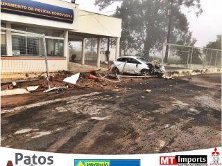 Motorista com sintomas de embriaguez invade instalações da PRV na BR-354, ele foi preso | Patos Agora - A notícia no seu tempo - https://patosagora.net