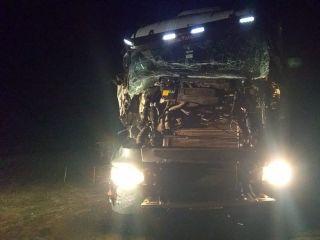 Colisão entre duas carretas é registrada na BR 354 | Patos Agora - A notícia no seu tempo - https://patosagora.net