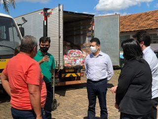 Campanha do Conselho Regional de Odontologia em parceria com produtores rurais arrecada 300 cestas básicas   Patos Agora - A notícia no seu tempo - https://patosagora.net