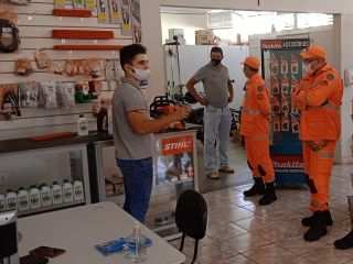 Militares do 2º pelotão do Corpo de Bombeiros realizam visita técnica e instrução na Sthil. | Patos Agora - A notícia no seu tempo - https://patosagora.net
