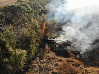 Corpo de Bombeiros atende queimadas de grandes proporções   Patos Agora - A notícia no seu tempo - https://patosagora.net