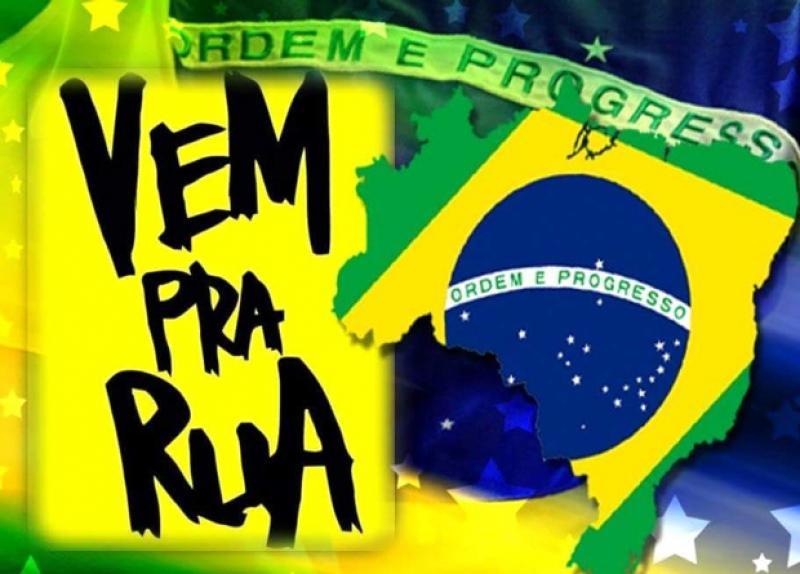 """Movimento """"Vem Pra Rua – Patos de Minas"""" convida população para participar de manifestação no dia 16/08"""