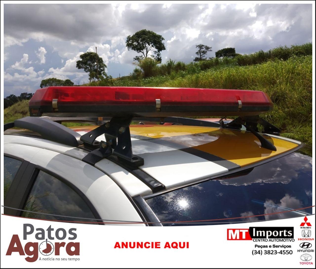 PM Rodoviária prende condutor de 46 anos por embriaguez ao volante