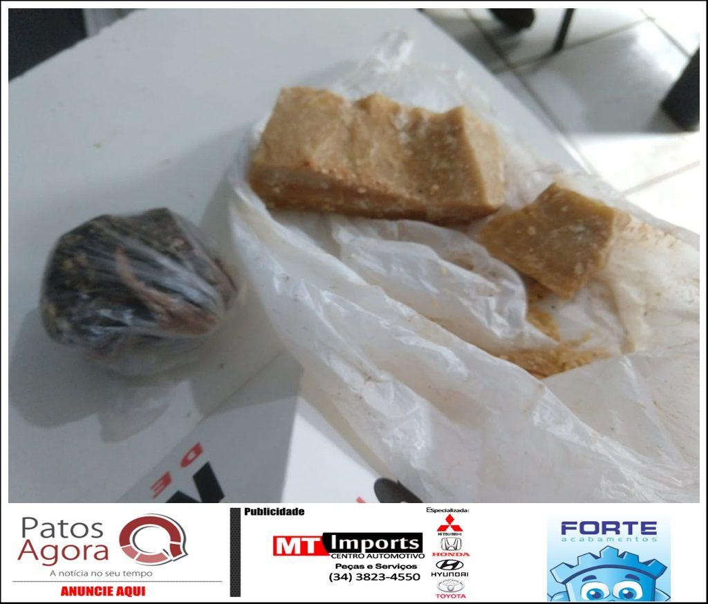 PM localiza grande quantidade de crack em casa abandonada no bairro Nossa Senhora Aparecida