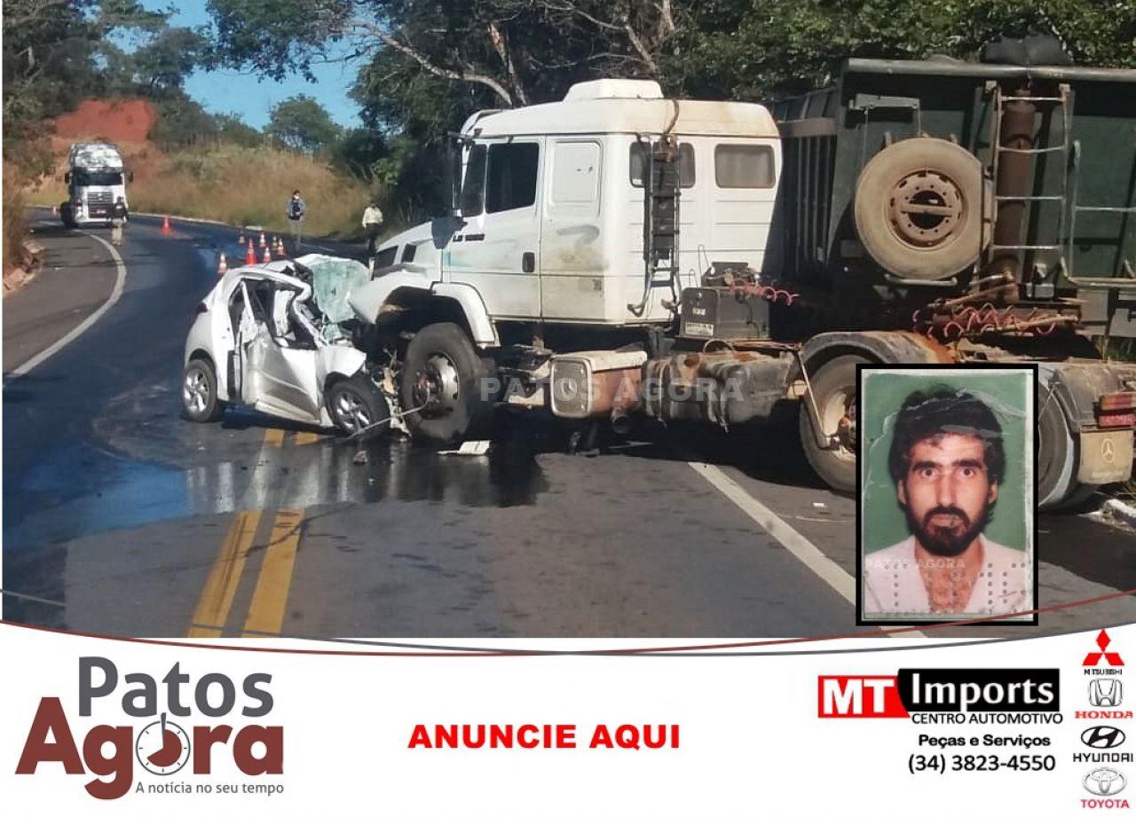 Secretário do tesouro de São Gonçalo do Abaeté morre em acidente na BR-365