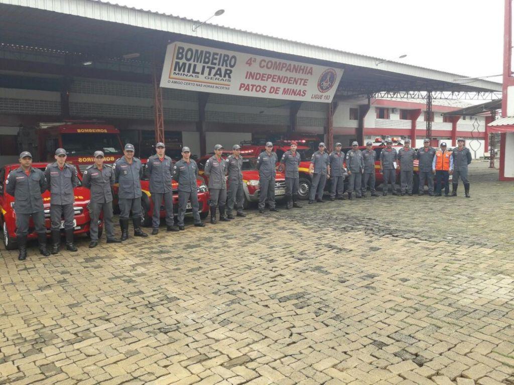 Companhia de Bombeiros de Patos de Minas pode ser transformada em Batalhão