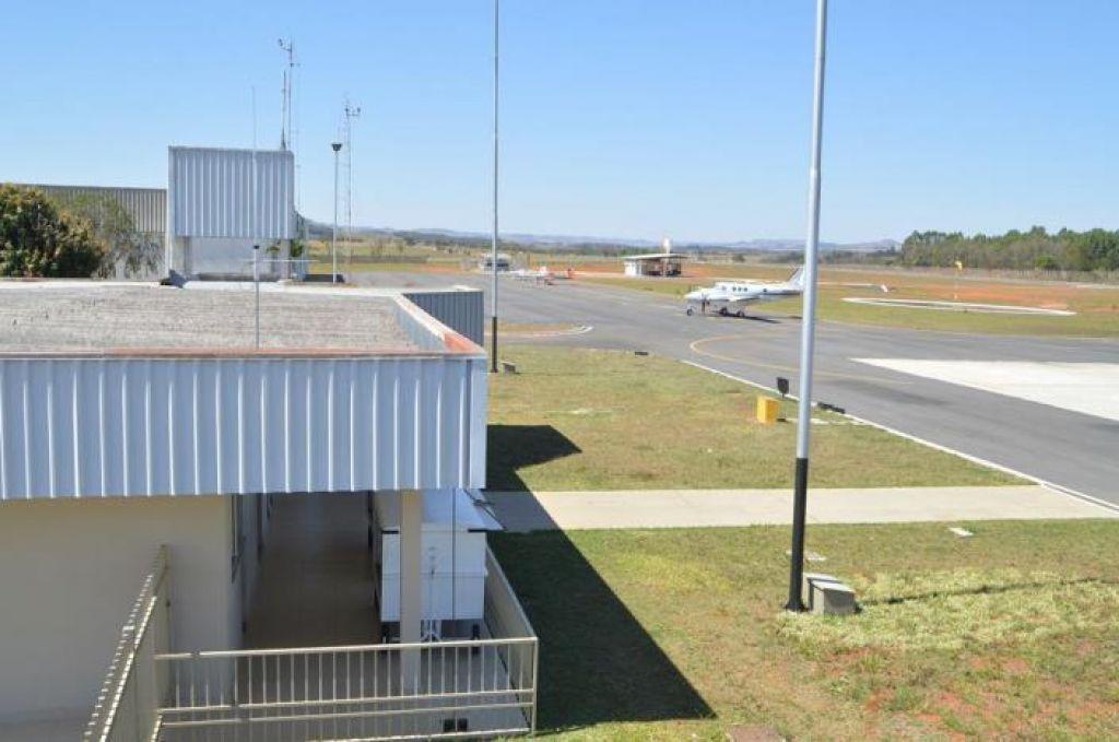 O aeroporto de Patos de Minas está operando com voos para Belo Horizonte, Araxá e Paracatu