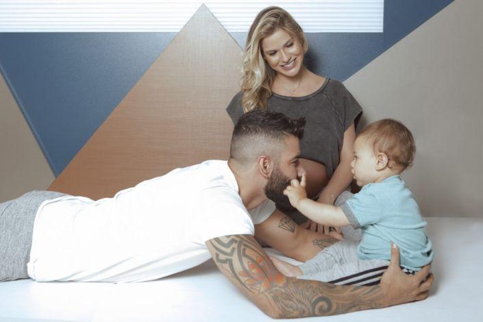 Nota oficial: Nasce Samuel, segundo filho do casal Gusttavo Lima e Andressa Suita