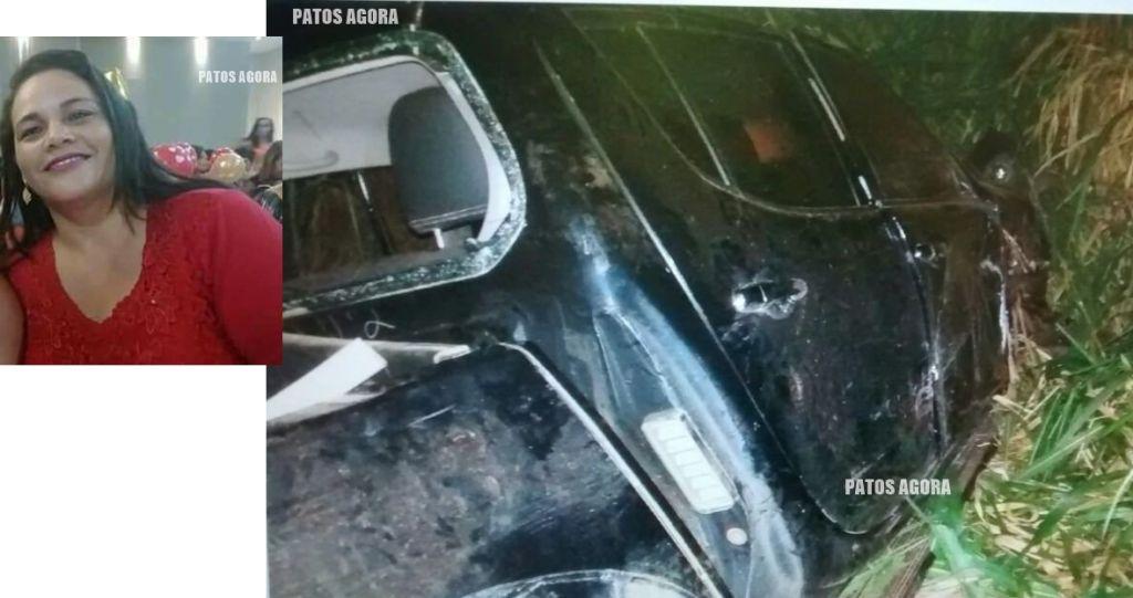 Passageira de picape morre após motorista cochilar e colidir em árvore na MGC-354